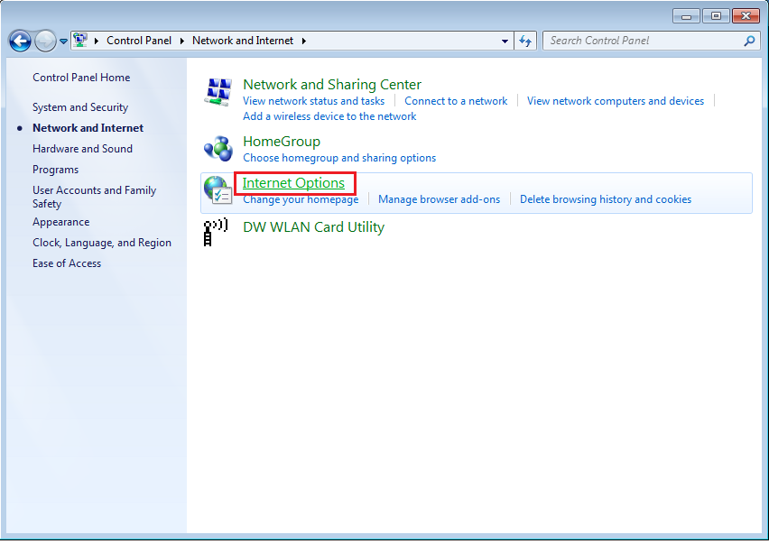 How To Access Internet Properties in Windows 7 Computer ...