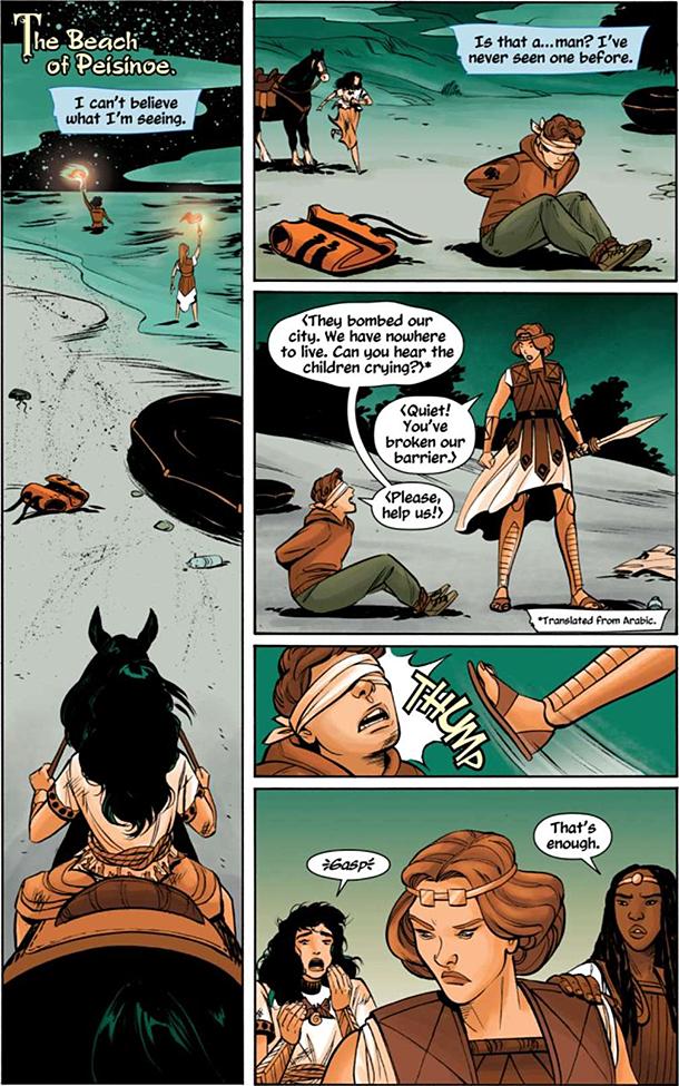 Wonder Woman: Tempest Tossed - 1