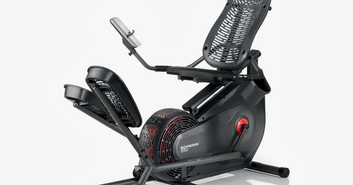 Exercise Bike Zone Schwinn 520 Recumbent Elliptical