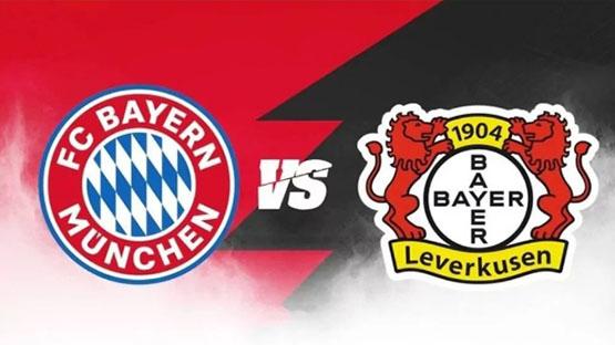 مشاهدة مباراة بايرن ميونخ ضد باير ليفركوزن 20-04-2021 بث مباشر في الدوري الالماني