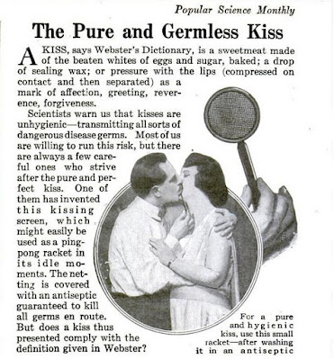 The Pure and Germless Kiss