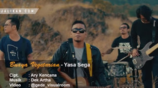 Lirik Lagu Buaya Vegetarian Yasa Sega