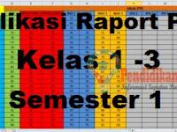 Download Aplikasi Raport UTS/PTS K13 Kelas 1 – 3 SD Semester 1 Terbaru