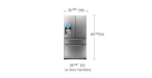 6 Cu 20 Ft Refrigerator Dimensions