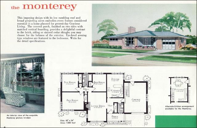 The Vintage War Bride Mid Century Modest vs The McMansion PART 1 – 1950S Home Floor Plans