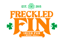 The Freckled fin Irish Pub in homes Beach, on Anna Maria Island, Florida
