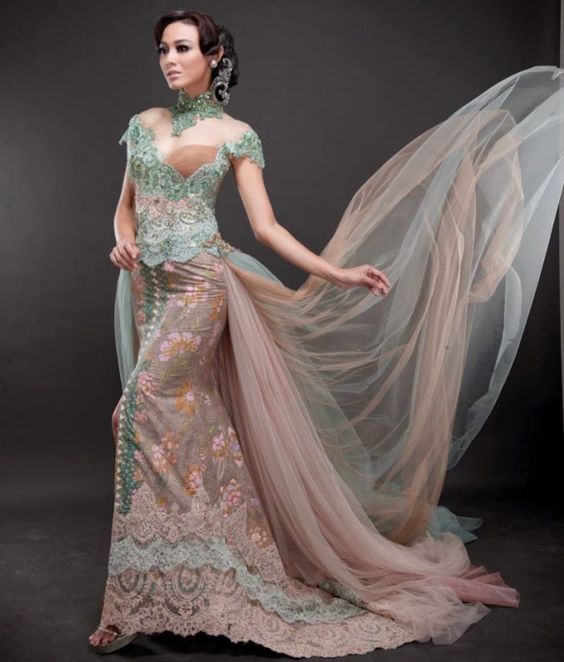 Mode Baju Kebaya Modern Lengan Pendek