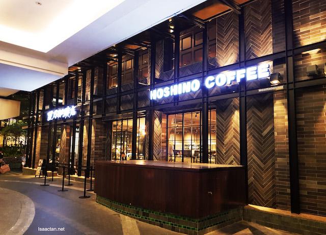 Hoshino Coffee @ Mid Valley Megamall, KL