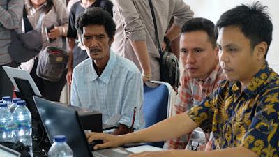 PT LAJ Gandeng Disdukcapil Tebo Rekam Data e-KTP Warga Suku Anak Dalam