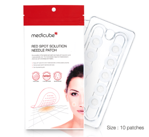 Red Spot Solution Needle Patch