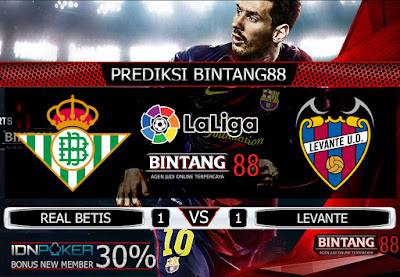 Prediksi Skor Real Betis VS Levante 25 September 2019
