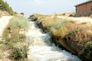 Las esclusas de Torrecilla.