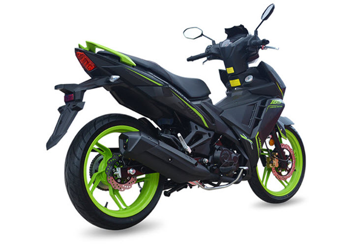 SYM nâng cấp xe côn tay VF3i 185, cạnh tranh Yamaha Exciter, Honda Winner X
