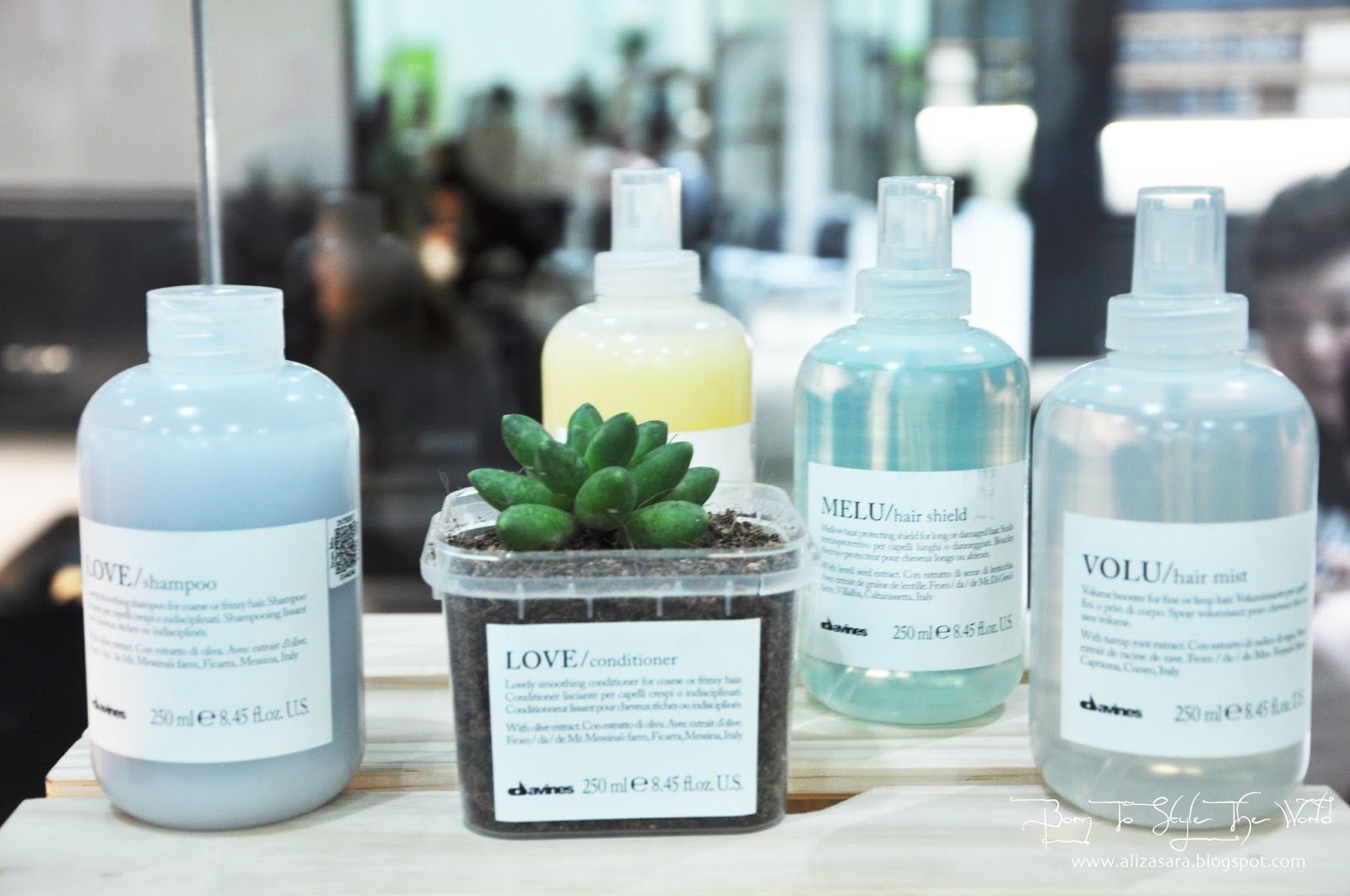 Sara Wanderlust: BEAUTY Davines ; Sustainable Haircare.