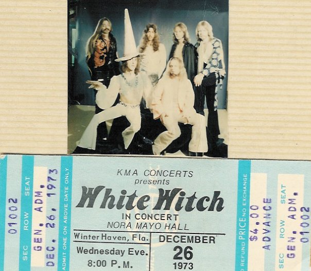 Formed in Florida by Buddy Richardson, a veteran of the Tampa scene  (Outsiders, Soul Trippers and Noah's Ark), White Witch played a mix of  Southern heavy ...
