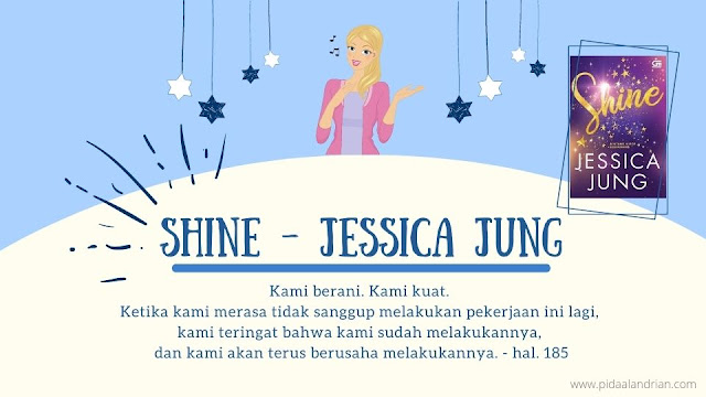 Kehidupan artis Kpop di novel Shine
