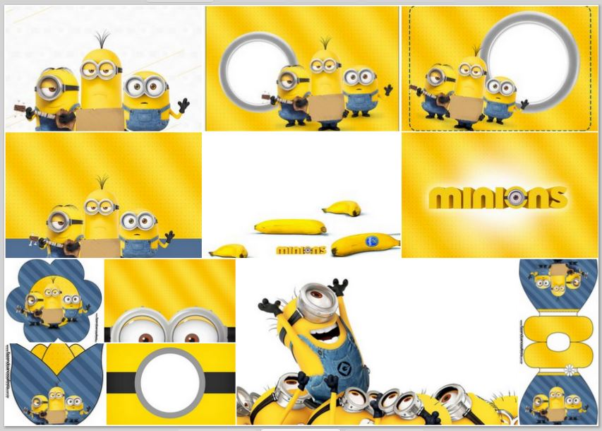 graphic regarding Minions Printable Invitations named Minions Online video:No cost Printable Invites. - Oh My Fiesta! within just