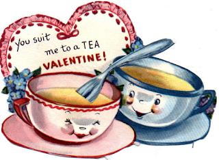 valentines tea