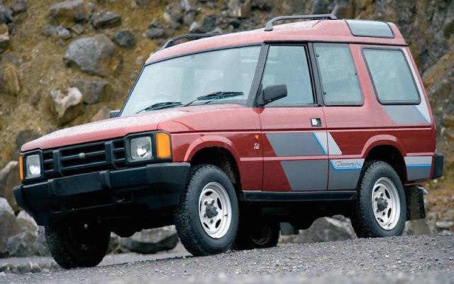 Land Rover Discovery là sự trung hòa của Range Rover với Defender