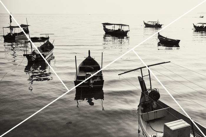 Золотой треугольник в фотокомпозиции