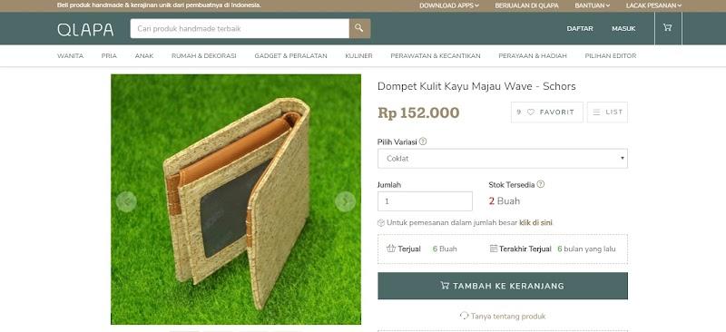 Pencarian Barang Handmade-ku Berakhir di qlapa.com