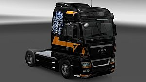 French Trucker skin for MAN TGX