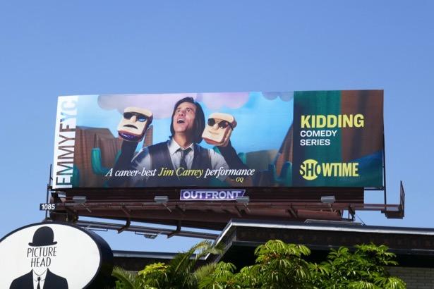 Kidding 2019 Emmy FYC billboard