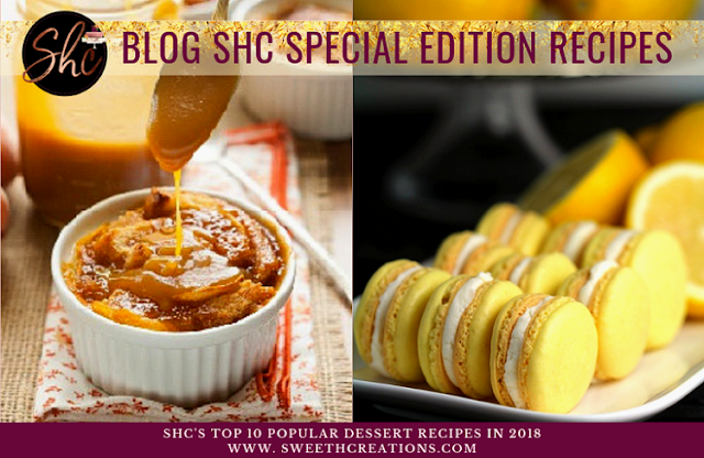SHC's Top 10 Popular Dessert Recipes In 2018
