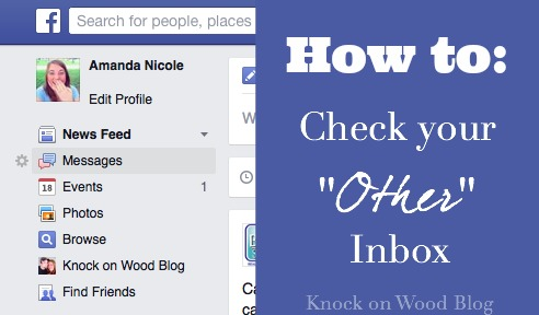 How to check your other inbox on Facebook