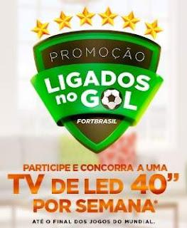 Promoção FortBrasil Cartões Copa do Mundo 2018 Ligados No Gol