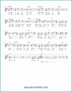 chord makin' whoopee 2 lagu jazz standar