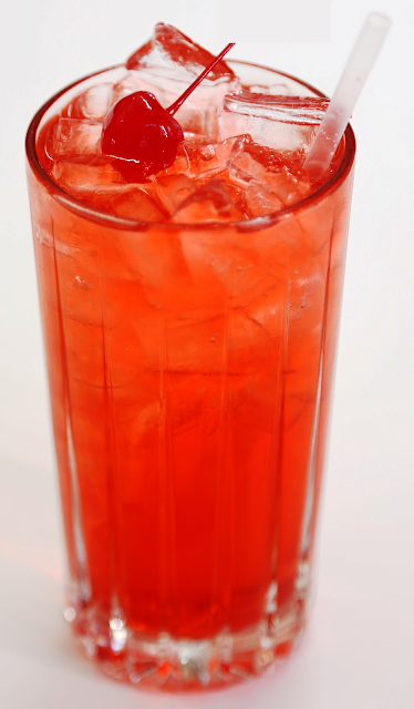 COCTEL SHIRLEY TEMPLE (sin alcohol)