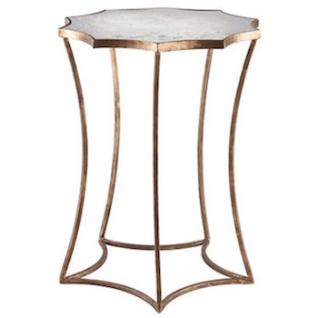 Copy Cat Chic Aidan Gray Home Astre Side Table