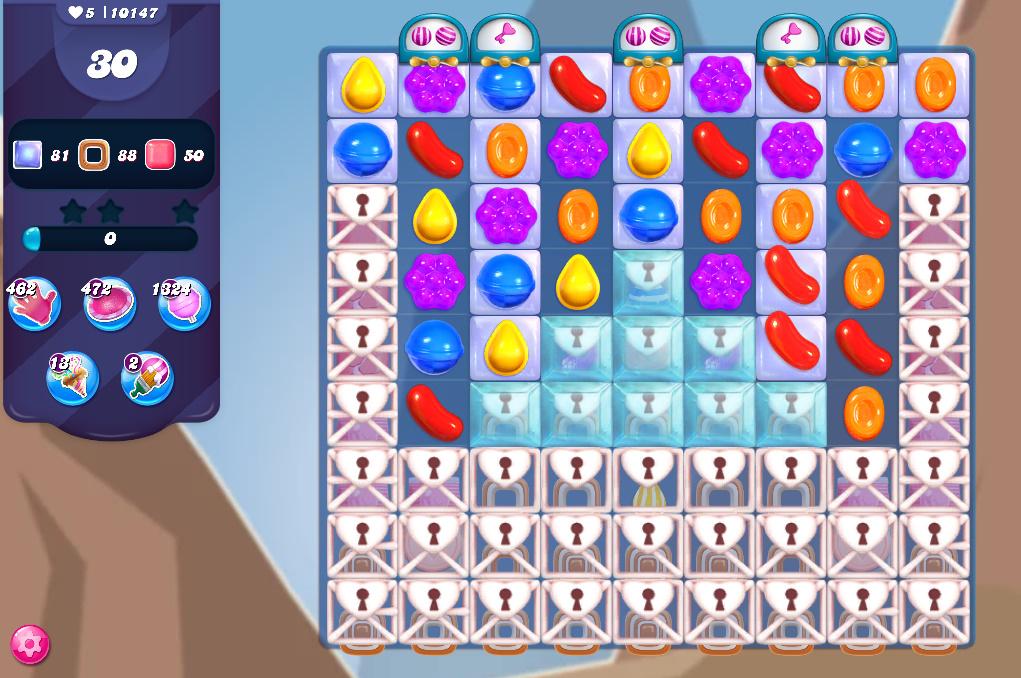 Candy Crush Saga level 10147
