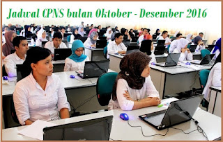 Jadwal CPNS 2016 Pendaftaran dan Pengumuman Terbaru