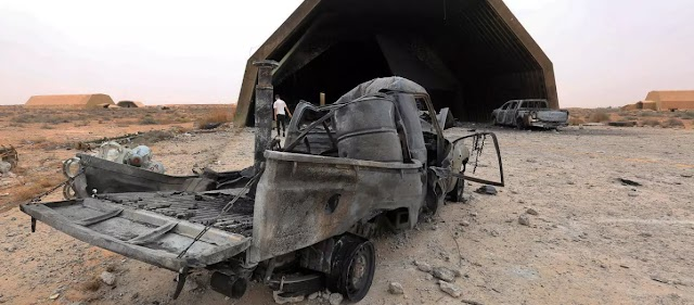 Νέα επιδρομή στην τουρκική βάση Αλ Βατίγια της Λιβύης-Μαχητικά από Αίγυπτο βομβάρδισαν τους Τούρκους
