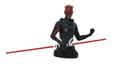 Star Wars: Rebels Darth Maul Animated Mini Bust by Diamond Select Toys