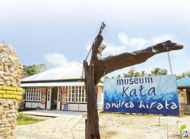 Museum sastra Andrea Hirata Belitung