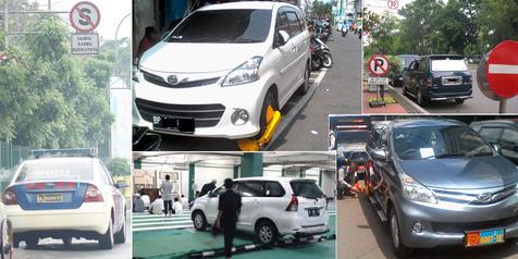 8 Kebiasaan Buruk 'Parkir Mobil Sembarangan' di Indonesia!