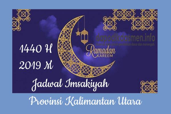 Jadwal Imsakiyah Ramadhan Provinsi Kalimantan Utara