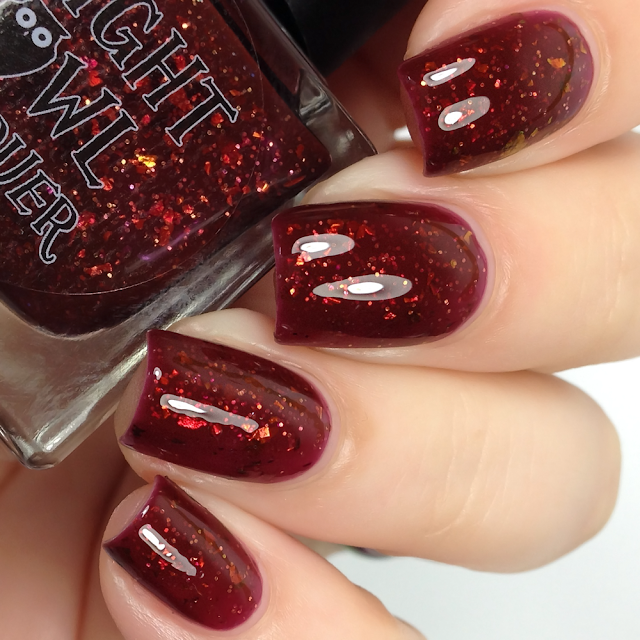 Night Owl Lacquer-Blood of a Wendigo