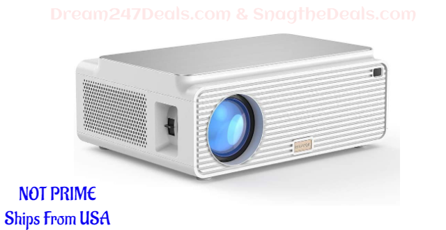 Blitzwolf LCD Projector 6500 Lumens Video Projector  30% OFF