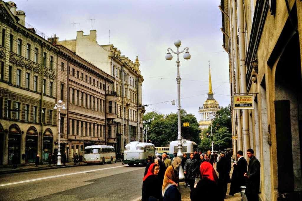 Ретро фото ленинграда