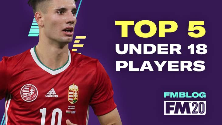 The top players under 18 in Football Manager 2020