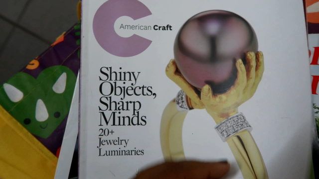 Image: Shiny objects magazine that will be shared on Bits and Babbles Blog. Real Life Chat: Reading Magazines That Inspired Me To Break Poverty, Learn To DIY, And Level Up!