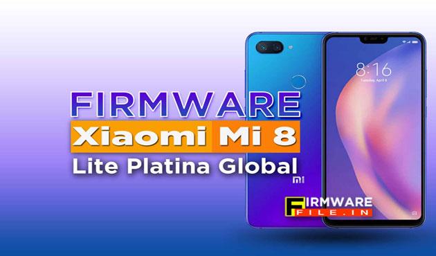 Firmware Xiaomi Mi 8 Lite