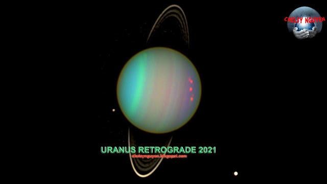 Uranus Retrograde 2021 2022 | Sao Thiên Vương nghịch hành