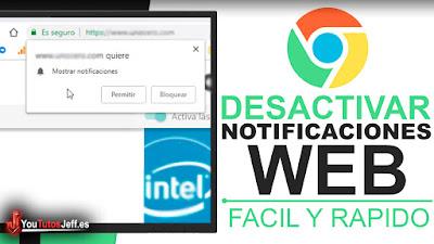 Desactivar o Mostrar Notificaciones de Paginas Web en Chrome - Trucos Chrome