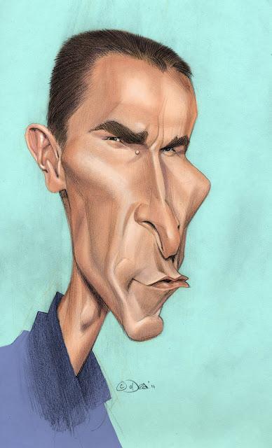 """Christian Bale"" por Patrick Dea"
