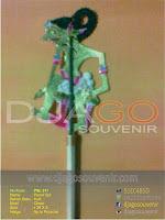 Souvenir Pensil Wayang di jual harga grosir